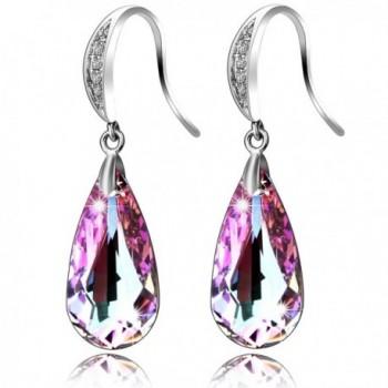 SILYHEART Teardrop Earrings Swarovski Crystals - CF12O0RM04T