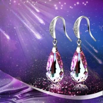 SILYHEART Teardrop Earrings Swarovski Crystals