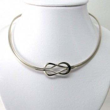 Polished Finished Neckwire Adjustable JE 0084N in Women's Choker Necklaces
