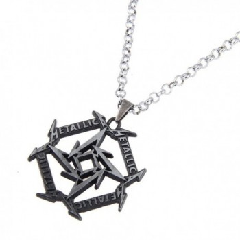 Jewelry Metallica Geometry Necklace Silver nl005613 2