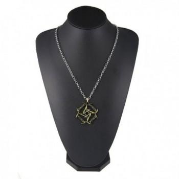 Jewelry Metallica Geometry Necklace Silver nl005613 2 in Women's Pendants