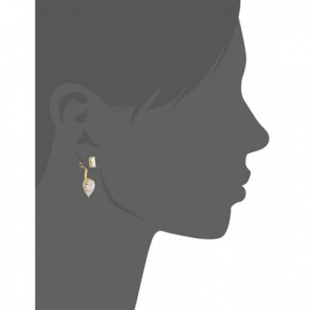 Nicole Miller Baguette Earrings Jacket