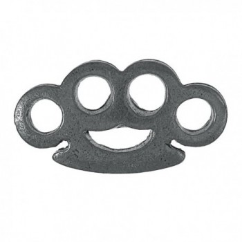 Brass Knuckles Lapel Pin - C71172NZF8H