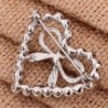 YAZILIND Jewelry Heart Zirconia Brooches in Women's Brooches & Pins