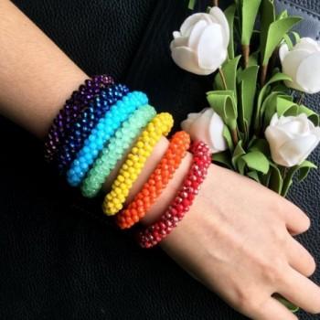 Chakra Healing Stretch Bracelet Crystal