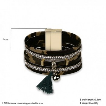 Daesar Leather Bracelet Camouflage Pattern