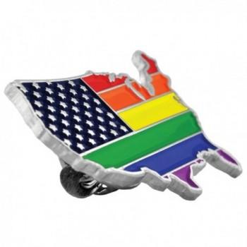 PinMarts Pride Shape Enamel Lapel