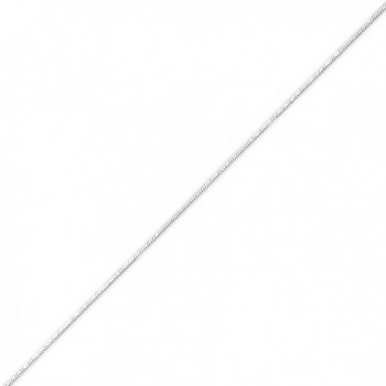 Sterling Silver 1.5mm Diamond-cut Flat Snake Chain - CH113PTHANT