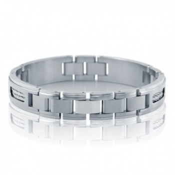 BERRICLE Stainless Steel Fashion Bracelet