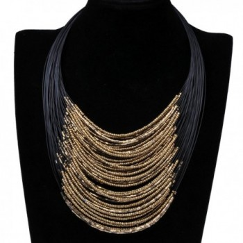Fashion Handmade Cluster Multilevel Necklace in Women's Chain Necklaces