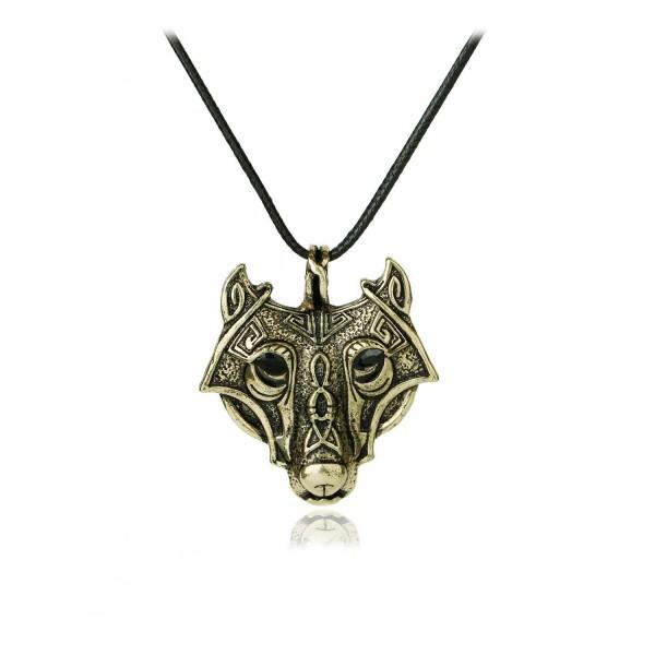 Meiligo Vikings Necklace Valknut Jewelry - C8186EHKERH