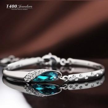 T400 Mothers Slipper Bracelet Indicolite