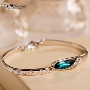 T400 Mothers Slipper Bracelet Indicolite in Women's Bangle Bracelets