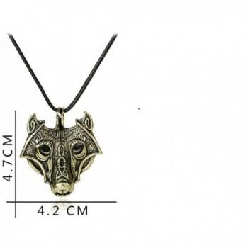 Meiligo Vikings Necklace Valknut Jewelry in Women's Pendants