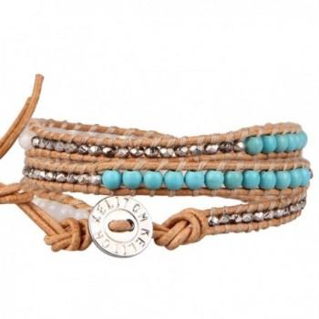 KELITCH Turquoise Bracelet Handmade Jewelry