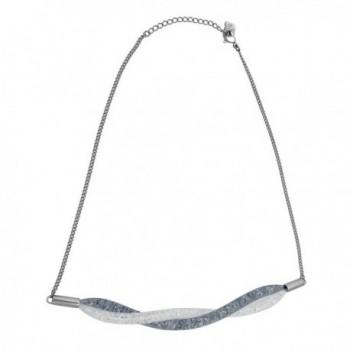 Swarovski StardustShort Twist Necklace Silver