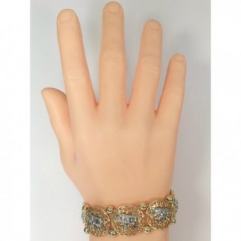Elephant Filigree Boutique Stretch Bracelet