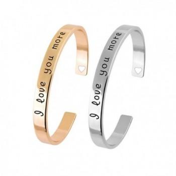 Kebaner Bracelet Engraved Girlfriend Couples