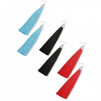 LOYALLOOK Pairs Tassel Earrings Dangle in Women's Drop & Dangle Earrings