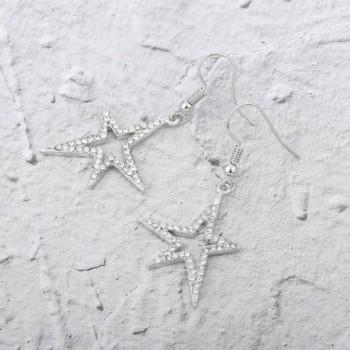 Earrings Stylish Shining Rhinestone Anti allergy in Women's Drop & Dangle Earrings