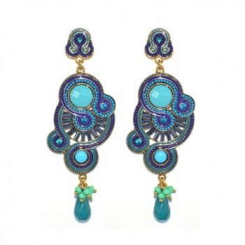 DongStar Fashion Jewelry Chandelier Earrings
