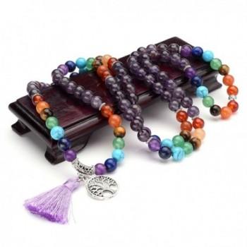 Natural Gemstone Buddhist Bracelet Necklace