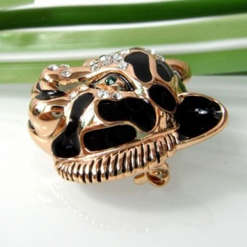 Navachi Plated Crystal Enamel Brooch in Women's Brooches & Pins