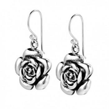 Blooming Sterling Silver Dangle Earrings