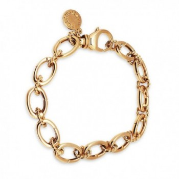14k Gold Plated Charm Bracelet for Women- Teens & Girls - Links Open for Charms- Includes Gift Box by Charmulét - C317XMRYAL4