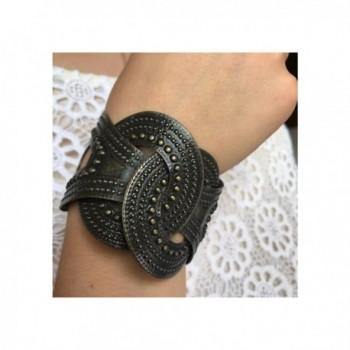 European Bronze Alloy Adjustable Bracelet in Women's Cuff Bracelets