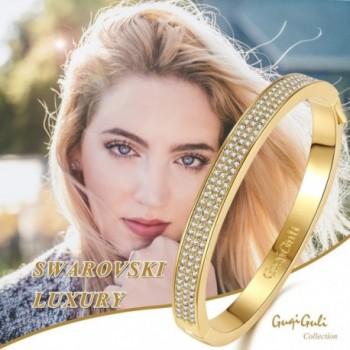 GuqiGuli Swarovski Elements Gold Tone Bracelet