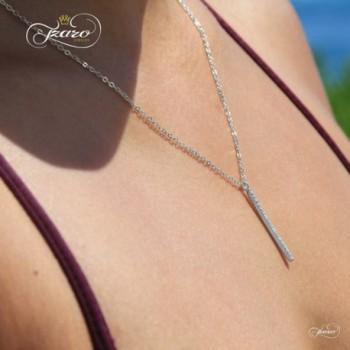 Sterling Vertical Necklace Layering Minimalist in Women's Pendants