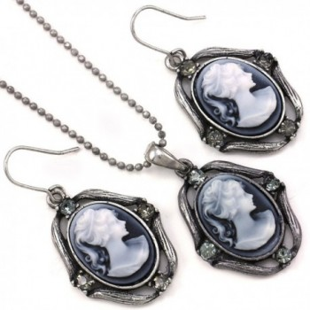 Necklace Pendant Earrings Fashion Jewelry