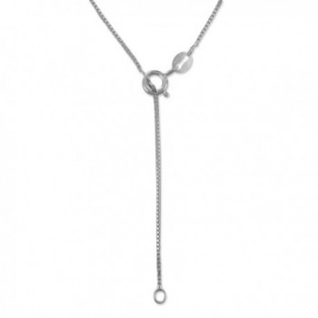Sterling Silver Accents Necklace Extender
