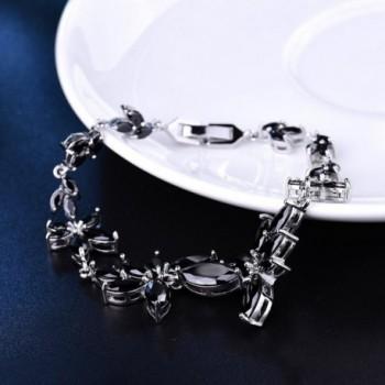 GULICX Womens Silver Statement Bracelet in Women's Bangle Bracelets