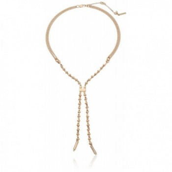 """Kenneth Cole New York """"Blue Mood"""" Mixed Bead Y-Shaped Necklace - CS12CQUWWYP"""