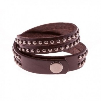 True Heart Style Bracelet Chocolate