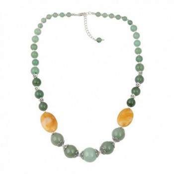 Aventurine Necklace Earrings Dangling Fashion in Women's Jewelry Sets