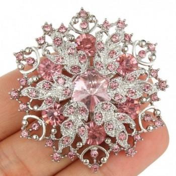 EVER FAITH Austrian Crystal Snowflake