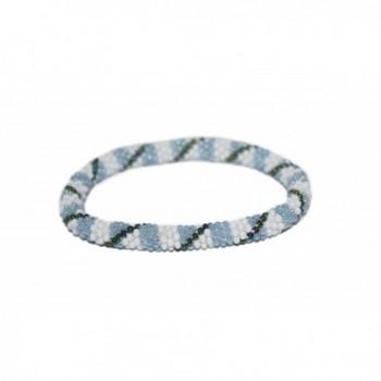 Crochet Glass Bracelet Nepal SB629