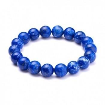 SUNNYCLUE Natural Lapis lazuli Gemstones Bracelet in Women's Stretch Bracelets