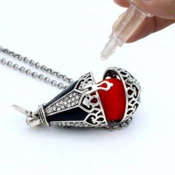Teardrop Rhinestone Locket Essential Aromatherapy