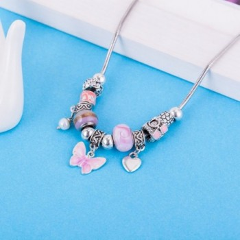 Fashion Stainless Butterfly Jewelry Necklace in Women's Collar Necklaces