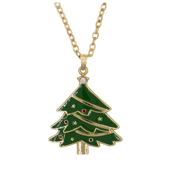 DennyBlaine & Co. Christmas Holiday Pendant Charm Necklace - CT12O4P819U
