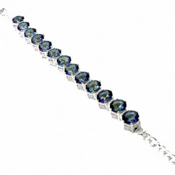 HERMOSA Christmas Mystic Silver Bracelet