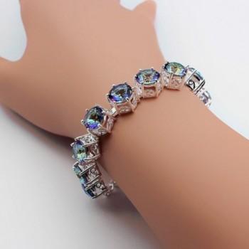 HERMOSA Christmas Mystic Silver Bracelet in Women's Charms & Charm Bracelets