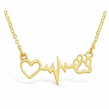 Rosa Vila Heartbeat Remembrance Veterinarian in Women's Pendants