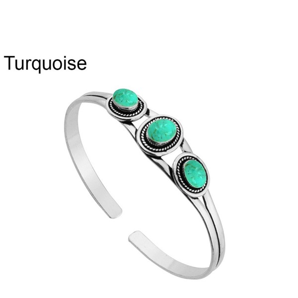 5 45ctw Turquoise Silver Sterling Jewelry - Turquoise - CC183LSOTUN