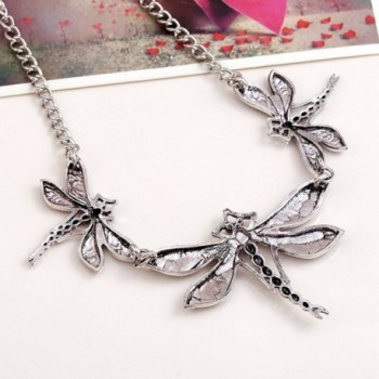 Winter Z Dragonfly jewelry accessories necklace in Women's Collar Necklaces
