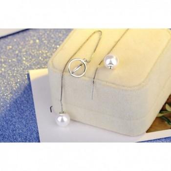 Womens Sterling Silver Tassel Earings in Women's Drop & Dangle Earrings
